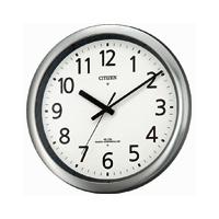 CITIZEN シチズン オフィスタイプ パルウェーブ437 掛時計 電波時計 リズム時計工業 8MY437-019★