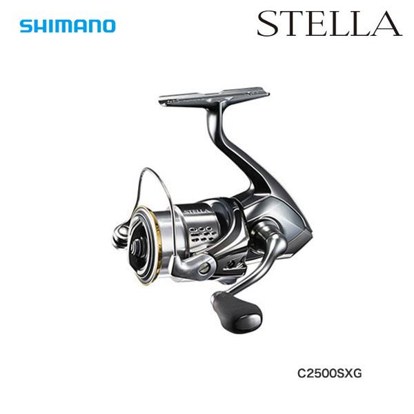 19 ステラ C2500SXG STELLA スピニングリール CORESOLID SERIES マイクロモジュールギア2 XPROTECT防水 SHIMANO (シマノ) 041296★