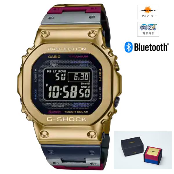 G-SHOCK MULTIBAND6 チタン 正規品 マルチカラー ソーラー電波時計 CASIO GMW-B5000TR-9JR Bluetooth通信機能 激安通販専門店 カシオ