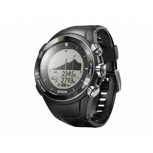 【エプソン】 WristableGPS for Trek(リスタブルGPSフォートレック) MZ-500B GPSアウトドアウォッチ [カラー:ブラック] #MZ500B 【スポーツ・アウトドア:ジョギング・マラソン:ギア】【EPSON】
