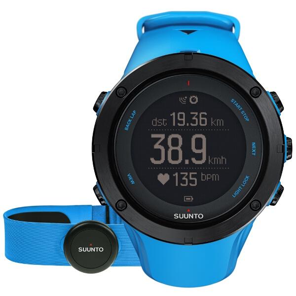 【スント】 AMBIT3 PEAK HR SAPPHIRE BLUE(アンビット3 ピーク HR サファイアブルー) 日本正規品 GPSスポーツウォッチ #S022305000 【スポーツ・アウトドア:ジョギング・マラソン:ギア】【SUUNTO】