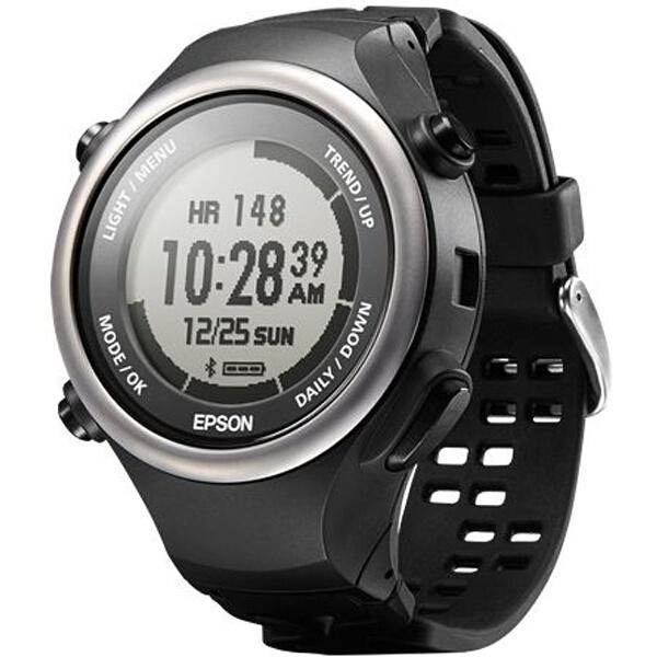 【エプソン】 PULSENSE(パルセンス) PS-600B 脈拍計測活動量計(腕時計タイプ) [カラー:エナジャイズドブラック] #PS600B 【スポーツ・アウトドア:その他雑貨】【EPSON】