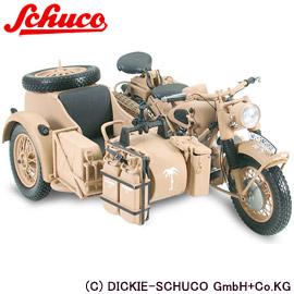 【シュコ―】 1/10 ダイキャスト完成品 BMW R75 サイドカ― 【玩具:模型:バイク】【1/10 ダイキャスト完成品】【SCHUCO】