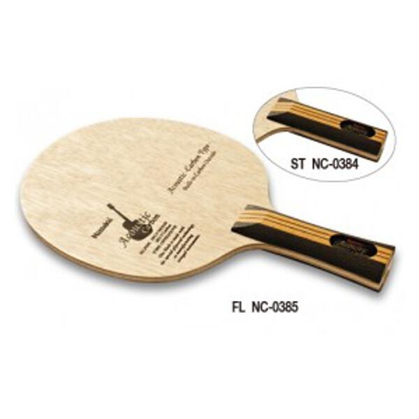 【ニッタク】 アコースティックカーボン ST 卓球ラケット #NC-0384 【スポーツ・アウトドア:卓球:ラケット】【NITTAKU】