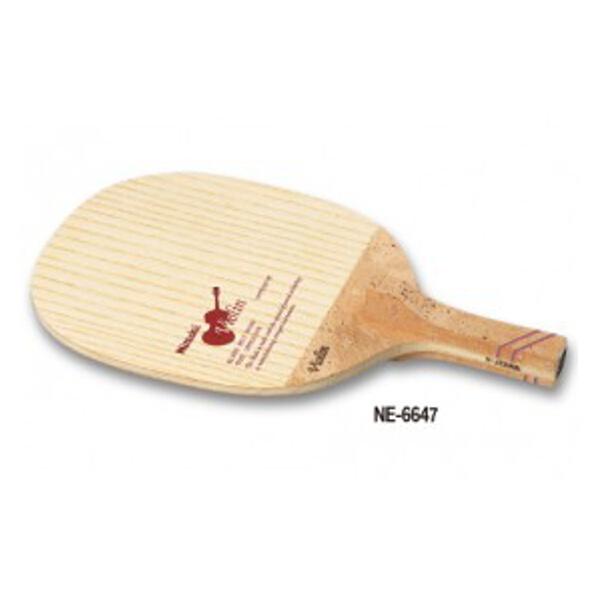 【全品ポイント10倍(要エントリー) 1ヶ月限定】 【送料無料】 バイオリン R-H 卓球ラケット #NE-6647 【ニッタク: スポーツ・アウトドア 卓球 ラケット】【NITTAKU】