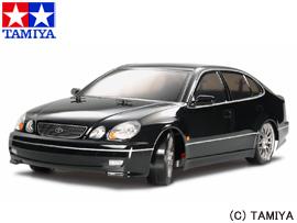 【タミヤ】 1/10 電動RCカ― No.432 トヨタ アリスト(TT-01Dシャーシ TYPE-E)ドリフトスペック 【玩具:ラジコン:オンロードカー:組み立てキット】【1/10RC ツーリングカー】【TAMIYA LEXUS GS 400(TT-01D TYPE-E CHASSIS)DRIFT SPEC】