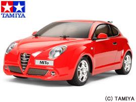 【タミヤ】 1/10RC フルセット アルファロメオ MiTo (M-05シャーシ) フルセット 【玩具:ラジコン:オンロードカー:組み立てキット】【1/10RC フルセット】【TAMIYA Alfa Romeo MiTo (M-05 CHASSIS) COMPLETE KIT】