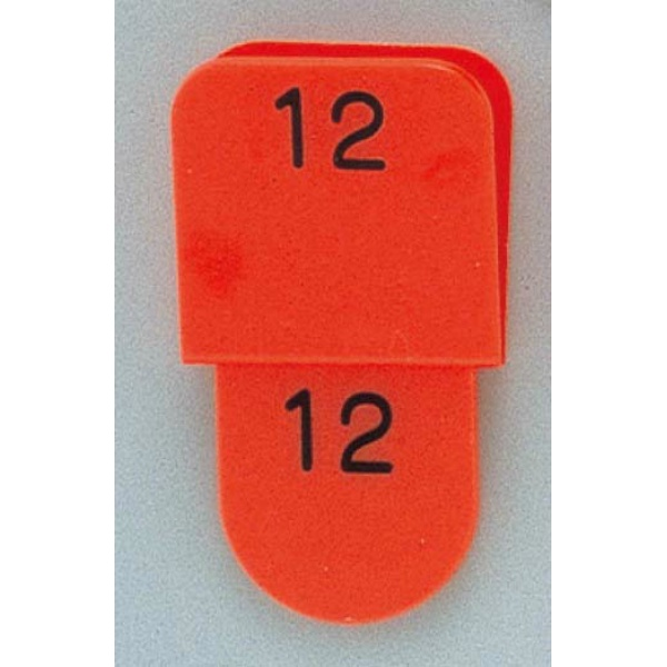 【光】 クロークチケット KF969 1~50 赤(CT-3) 【キッチン用品:調理機器:厨房機器】【クロークチケット KF969】【HIKARI】