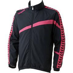 【アリーナ】 ウィンドジャケット [サイズ:SS] [カラー:ブラック×ピンク] #ARN-6300-BKPK 【スポーツ・アウトドア:その他雑貨】【ARENA】