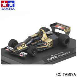 【タミヤ】 マスターワークコレクション No.94 1/20 ウルフWR1 1977 モナコGP (完成品) 【玩具:プラモデル:車:レーシングカー】【マスターワークコレクション (車)】【TAMIYA 1/20 WOLF WR1 1977 MONACO GP (FINISHED MODEL)】