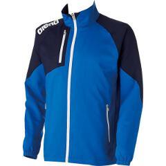 【アリーナ】 クロスジャケット [サイズ:S] [カラー:ブルー×ダークネイビー] #ARN-4300-BUDN 【スポーツ・アウトドア:その他雑貨】【ARENA】