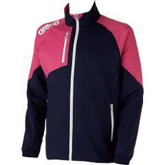 【アリーナ】 クロスジャケット [サイズ:XO] [カラー:ダークネイビー×マゼンタ] #ARN-4300-DNMG 【スポーツ・アウトドア:その他雑貨】【ARENA】