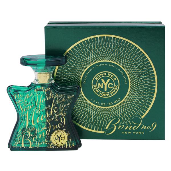【ボンドNo.9】 ニューヨーク ムスク オーデパルファム・スプレータイプ 50ml 【香水・フレグランス:フルボトル:ユニセックス・男女共用】【BOND NO.9 NEW YORK MUSK EAU DE PARFUM SPRAY】