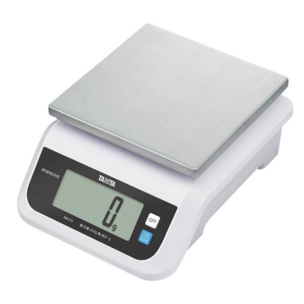 【タニタ】 タニタ デジタルスケール 2kg KW-210 【キッチン用品:調理用具・器具:計量器:キッチンスケール】【TANITA】