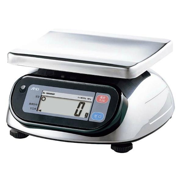 【エー・アンド・デイ】 A&D 防水・防塵デジタル台はかり SL1000WP 【キッチン用品:調理用具・器具:計量器:キッチンスケール】【A&D】