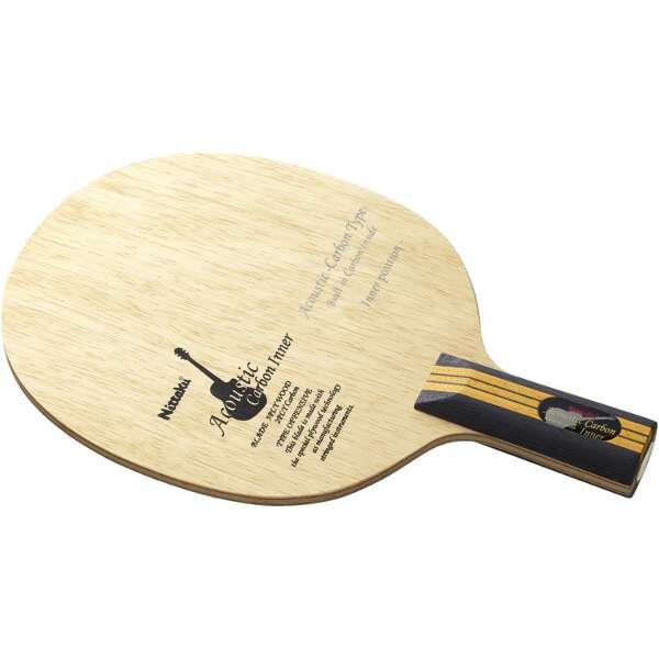 【ニッタク】 アコースティックカーボンインナ― C 中国式 卓球ラケット #NC-0192 【スポーツ・アウトドア:卓球:ラケット】【NITTAKU】