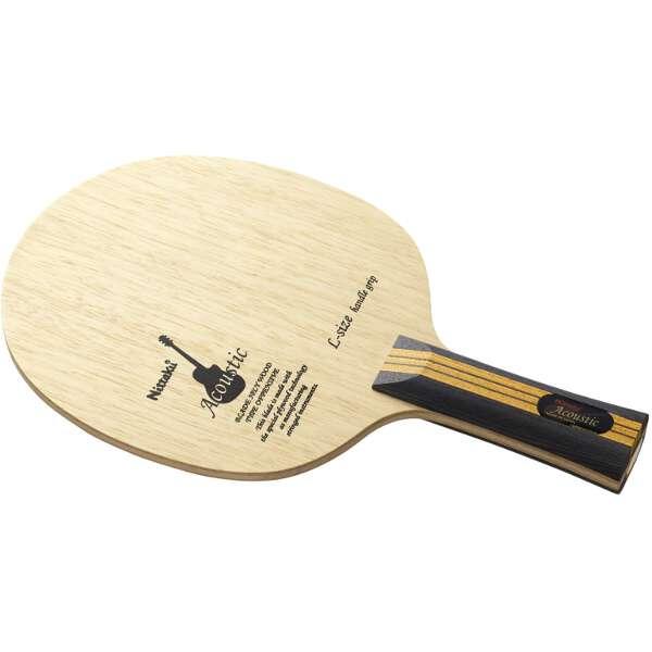 【ニッタク】 アコースティック LGタイプ FL(フレア) 卓球ラケット #NE-6148 【スポーツ・アウトドア:その他雑貨】【NITTAKU】