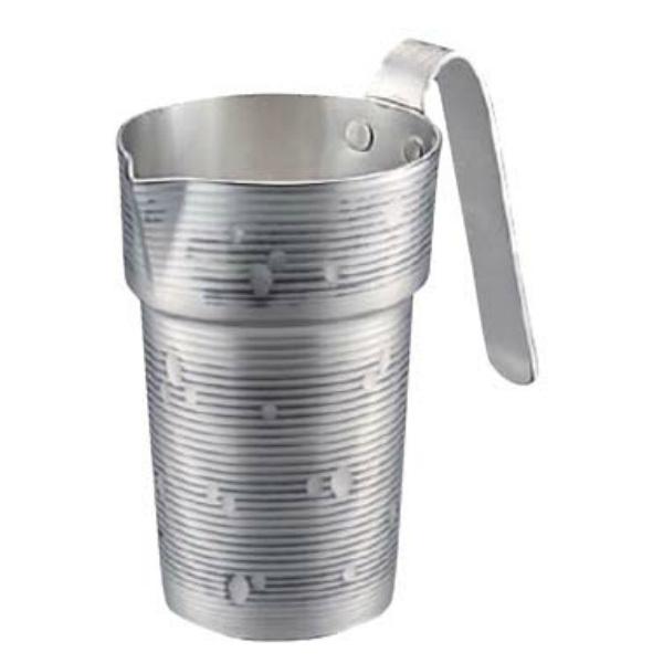 【新光金属】 純銅チロリ(酒タンポ/錫被) 雪月花 1合 CF-31-1SN 【キッチン用品:調理機器:厨房機器:酒燗器】【SINKOU KINZOKU JAPANESE SAKE CHIRORI】