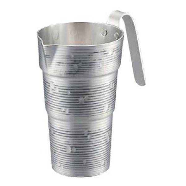 【新光金属】 純銅チロリ(酒タンポ/錫被) 雪月花 2合 CF-32-1SN 【キッチン用品:調理機器:厨房機器:酒燗器】【SINKOU KINZOKU JAPANESE SAKE CHIRORI】