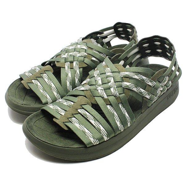 【マリブサンダルズ】 MALIBU×MISSONI CANYON [サイズ:27cm(US10)] [カラー:オリーブ×ホワイト] #MM-1708 【靴:メンズ靴:サンダル:コンフォートサンダル】【MM-1708】【MALIBU SANDALS MALIBU SANDALS CANYON OLIVE/WHITE】
