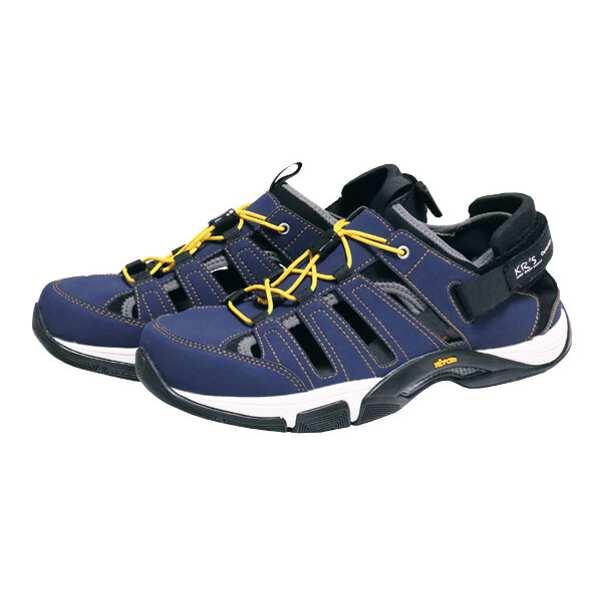 【渓流】 KRS サンダル [カラー:ネイビー] [サイズ:25cm] #0035026-670 【スポーツ・アウトドア:登山・トレッキング:靴・ブーツ】【KEIRYUU】