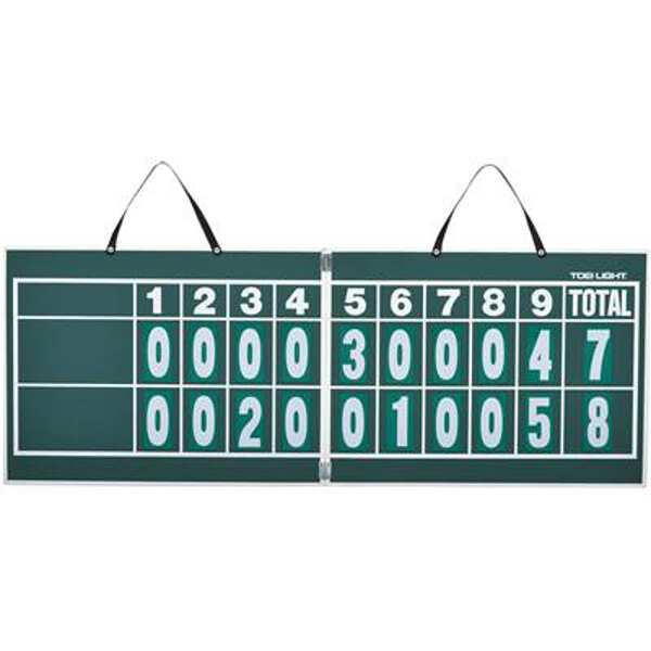 【トーエイライト】 ハンディー野球得点板(マグネット数字板付) [サイズ:44.5×119×厚さ1cm] #B-2467 【スポーツ・アウトドア:野球・ソフトボール:設備・備品】【TOEI LIGHT】