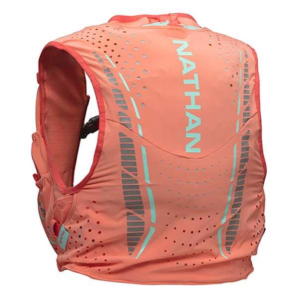 【ネイサン】 ベイパーハウ 4L [カラー:フュージョンコーラル] [サイズ:XXS] #NS4537-0253 【スポーツ・アウトドア:アウトドア:バッグ:バックパック・リュック】【NATHAN】