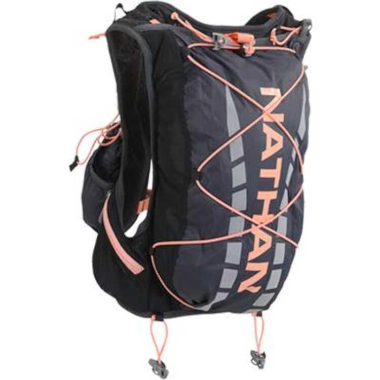 【ネイサン】 ベイパーエアレス 7L(ハイドレーション付属モデル) [カラー:ブラック×フュージョンコーラル] [サイズ:XS] #NS4527-0428 【スポーツ・アウトドア:アウトドア:バッグ:バックパック・リュック】【NATHAN】