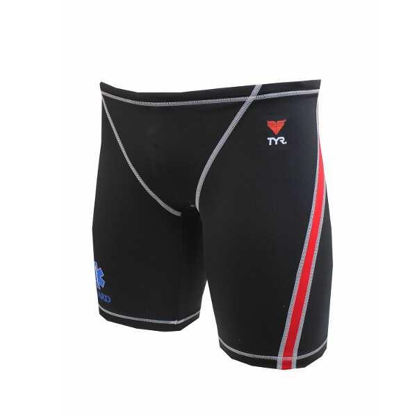 【ティア】 ロングボクサ― メンズ ライフガード [サイズ:M] [カラー:ブラック] #JSURF-10M-BK 【スポーツ・アウトドア:マリンスポーツ】【TYR MENS GUARD-JAMMER】