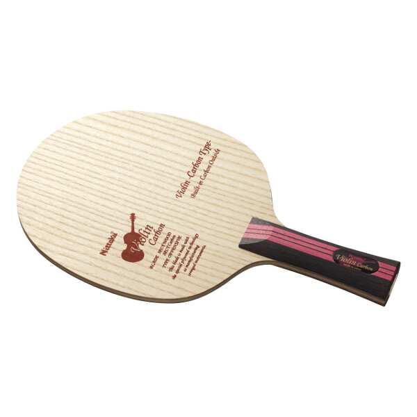 【ニッタク】 シェイクラケット VIOLIN CARBON FL(バイオリン カーボン フレア) #NC-0432 【スポーツ・アウトドア:卓球:ラケット】【NITTAKU】