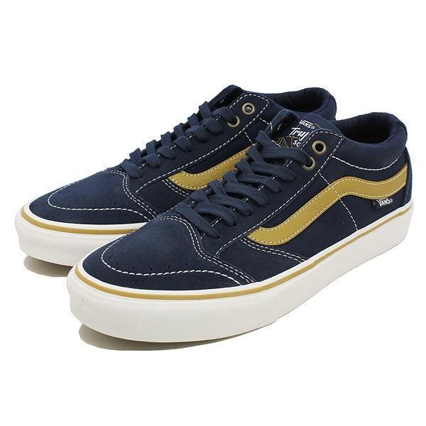 【バンズ】 バンズ ティーエヌティーSG [サイズ:28cm(US10)] [カラー:ドレスブルー×メダルブロンズ] #VN000ZSNQNP 【靴:メンズ靴:スニーカー】【VN000ZSNQNP】