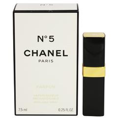 【シャネル】 No.5 (箱なし) パルファム・スプレータイプ 7.5ml 【香水・フレグランス:フルボトル:レディース・女性用】【No.5】【CHANEL N゜5 PARFUM】