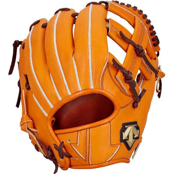 【デサント】 硬式野球グラブ サード用(右投げ用) [カラー:オレンジ] #DBBLJG45-ORG 【スポーツ・アウトドア:野球・ソフトボール:グローブ・ミット】【DESCENTE】
