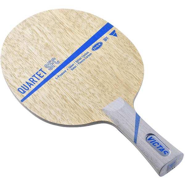 【全品ポイント10倍(要エントリー) 1ヶ月限定】 【送料無料】 QUARTET SFC FL 卓球ラケット #028704 【ヴィクタス: スポーツ・アウトドア 卓球 ラケット】【VICTAS】