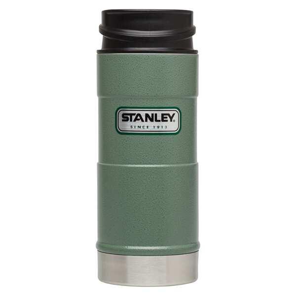 【スタンレ―】 真空ワンハンドマグ 0.35L [カラー:グリーン] [容量:350ml] #01569-009 【スポーツ・アウトドア:アウトドア:水筒・ボトル】【STANLEY CLASSIC ONE HAND VACUUM MUG 0.35L】