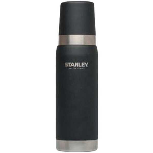 【スタンレ―】 マスター真空ボトル 0.75L [カラー:マットブラック] [容量:750mL] #02660-005 【スポーツ・アウトドア:アウトドア:水筒・ボトル】【STANLEY Master Vacuum Bottle 0.75L Foundry Black】
