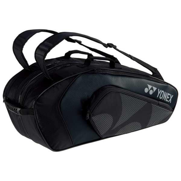 【ヨネックス】 ラケットバッグ6 リュック付(テニスラケット6本用) [カラー:ブラック] [サイズ:75×30×32cm] #BAG1922R-007 【スポーツ・アウトドア:その他雑貨】【YONEX】