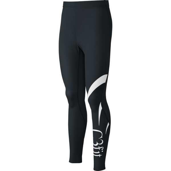 【シースリーフィット】 フュージョンロングタイツ(メンズ) [サイズ:M] [カラー:ブラック] #3F08322-K 【スポーツ・アウトドア:スポーツウェア・アクセサリー:スポーツ用インナー:メンズインナー:ボトムズ】【C3FIT Fusion Long Tights(MENS)】