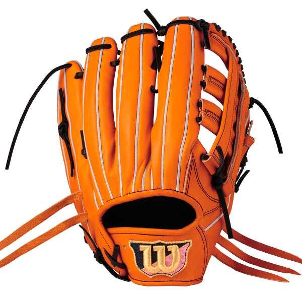 【ウィルソン】 (左投げ用)ウィルソンスタッフ DUAL 外野手用 一般硬式野球グラブ(左投げ) [カラー:Eオレンジ] [サイズ:12] #WTAHWED8DR-22 【スポーツ・アウトドア:野球・ソフトボール:グローブ・ミット】【WILSON】