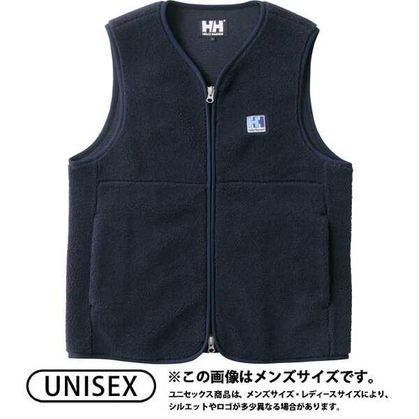 【ヘリーハンセン】 ファイバーパイルベスト(ユニセックス) [サイズ:M] [カラー:ネイビー] #HE51864-N 【スポーツ・アウトドア:アウトドア:ウェア:メンズウェア:ベスト】【HELLY HANSEN FIBERPILE Vest】