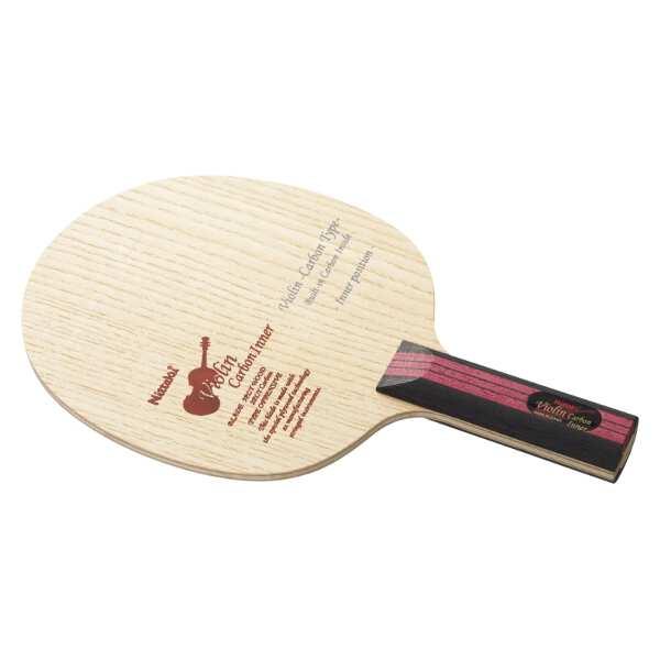 【ニッタク】 シェークラケット バイオリン カーボン インナ― ST(ストレート) #NC-0435 【スポーツ・アウトドア:卓球:ラケット】【NITTAKU VIOLIN CARBON INNER ST】