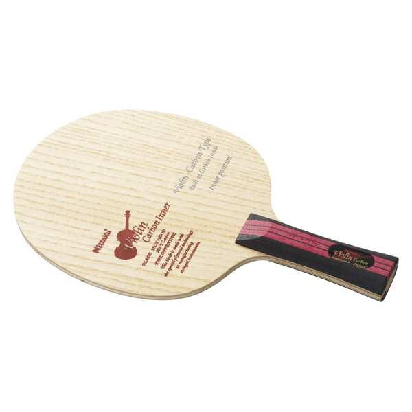 【ニッタク】 シェークラケット バイオリン カーボン インナ― FL(フレア) #NC-0436 【スポーツ・アウトドア:卓球:ラケット】【NITTAKU VIOLIN CARBON INNER FL】