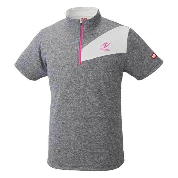【ニッタク】 卓球ゲームシャツ ウォーミーシャツ [サイズ:M] [カラー:ピンク] #NW-2186-21 【スポーツ・アウトドア:卓球:ウェア:メンズウェア:シャツ】【NITTAKU WARMY SHIRT】