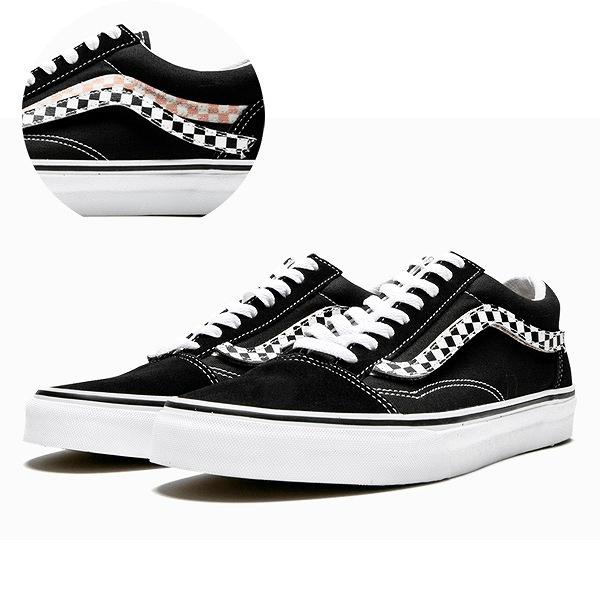 【バンズ】 バンズ オールドスクール (Sidestripe V) [サイズ:29cm(US11)] [カラー:ブラック×ホワイト] #VN0A38G1UJJ 【靴:メンズ靴:スニーカー】【VN0A38G1UJJ】【VANS VANS OLD SKOOL (Sidestripe V) Black/True】