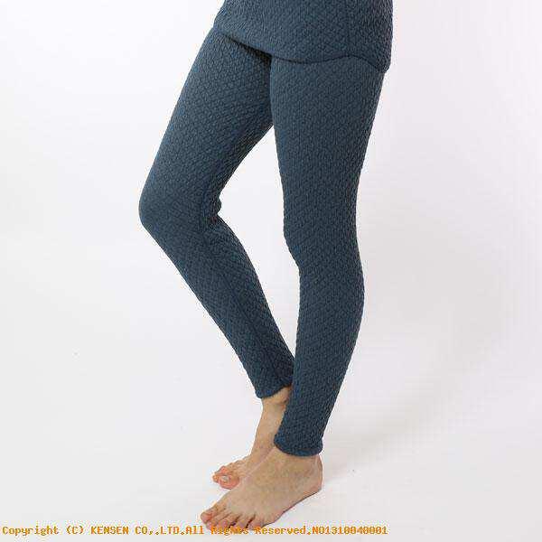 【ひだまり】 ひだまりチョモランマ 婦人タイツ [サイズ:L] [カラー:ネイビー] #QM862 【スポーツ・アウトドア:アウトドア:ウェア:レディースウェア:防寒インナー】【HIDAMARI】