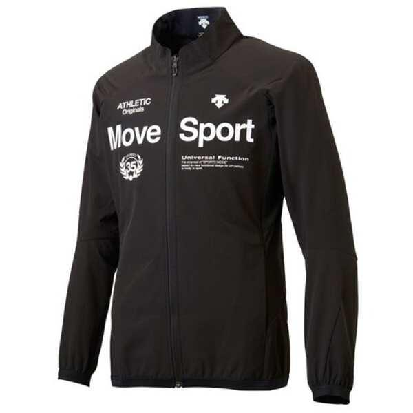 【デサント】 ACTIVE SUITS ジャケット [サイズ:XO] [カラー:ブラック] #DMMLJF15-BLK 【スポーツ・アウトドア:スポーツウェア・アクセサリー:ジャージ:メンズジャージ:アウター】【DESCENTE】
