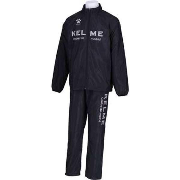 【ケレメ】 ウインドブレーカースーツ(上下セット) [サイズ:XL] [カラー:ブラック] #KG18F624-26 【スポーツ・アウトドア:スポーツウェア・アクセサリー:ウインドブレーカー:メンズウインドブレーカー:セットアップ】【KELME】