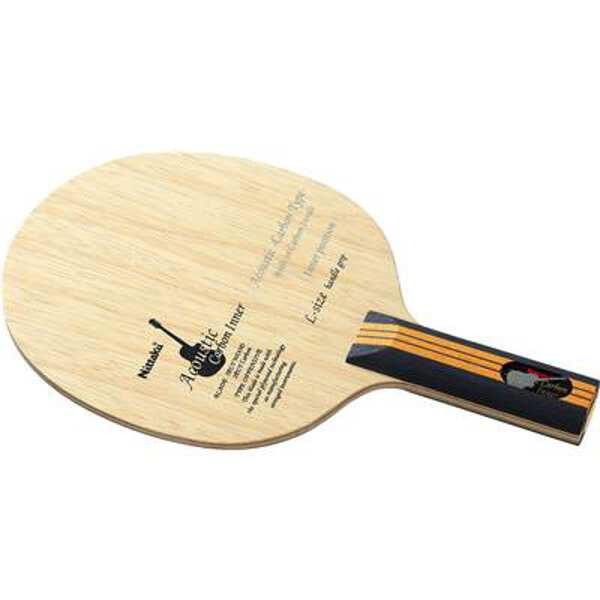 【ニッタク】 アコースティックカーボンインナー(LGタイプ) ST(ストレート) 卓球ラケット #NC-0404 【スポーツ・アウトドア:卓球:ラケット】【NITTAKU ACOUSTIC CARBON INNER LGTYPE ST】