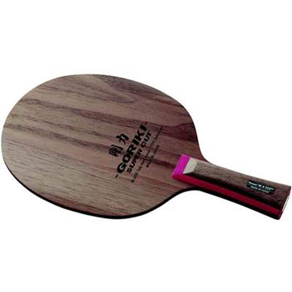 【ニッタク】 剛力スーパーカット 剛力無双 FL(フレア) 卓球ラケット #NE-6138 【スポーツ・アウトドア:卓球:ラケット】【NITTAKU GORIKI SUPER CUT】