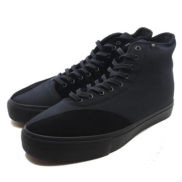 【クリアウェザ―】 MAUDE [サイズ:27cm(US9)] [カラー:BLACK V ELVET] #CM31004 【靴:メンズ靴:スニーカー】【CM31004】【CLEAR WEATHER MAUDE BLACK V ELVET】